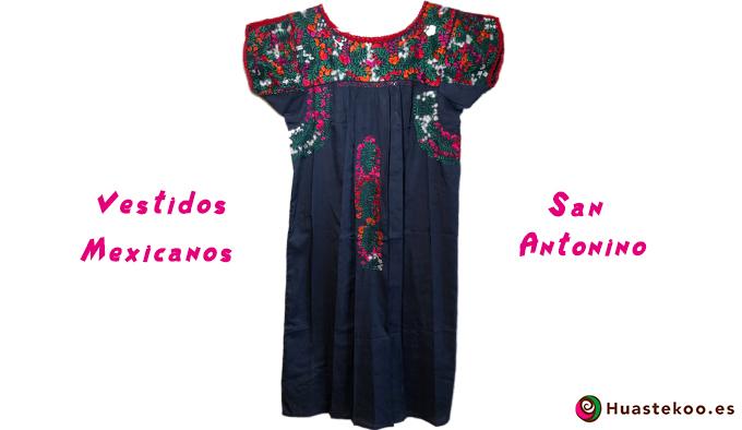 Vestidos San Antonino, información y consejos - Tienda Mexicana Huastekoo.es