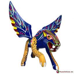 Alebrije Mexicano Artesanal Jaguar - Tienda Mexicana Online - Huastekoo.es - H00498