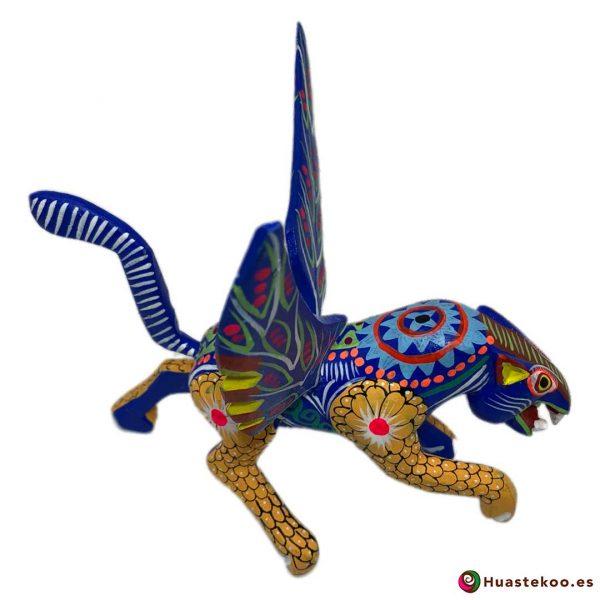 Alebrije Mexicano Artesanal Jaguar - Tienda Mexicana Online - Huastekoo.es - H00498 - 8
