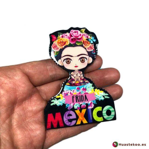 Imán Frida México Resina - Tienda Mexicana Online - Huastekoo.es - 2