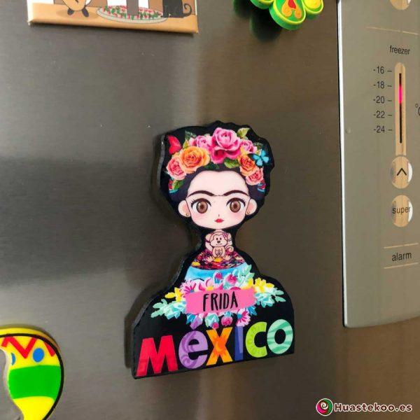 Imán Frida México Resina - Tienda Mexicana Online - Huastekoo.es - 3