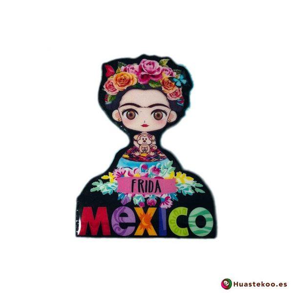 Imán Frida México Resina - Tienda Mexicana Online - Huastekoo.es