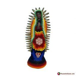 Virgen de Guadalupe Huichol - Tienda Mexicana Online - Huastekoo.es