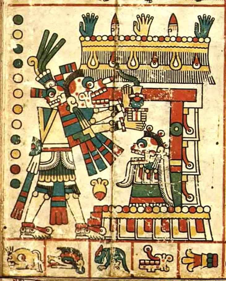 Mictlantecuhtli Señor de los Muertos - Tienda de Artesanías Mexicanas - Huastekoo.es