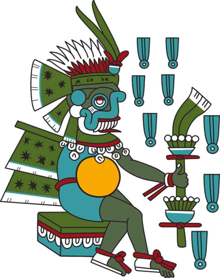 Tláloc - Dios de la Lluvia - México