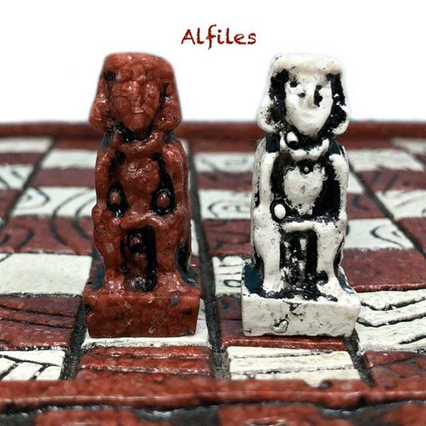 Alfiles Ajedrez Azteca - Tienda de Artesanías Mexicanas - Huastekoo.es