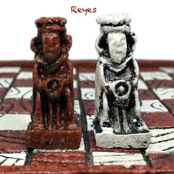 Reyes Ajedrez Azteca - Tienda de Artesanías Mexicanas - Huastekoo.es