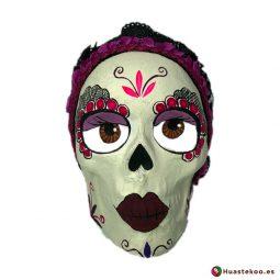 Calavera Catrina de Papel - Tienda de Artesanías Mexicanas - Huastekoo.es