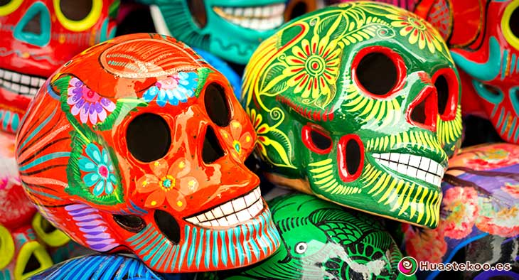Calaveras Mexicanas - Tienda de Artesanías Mexicanas - Huastekoo.es