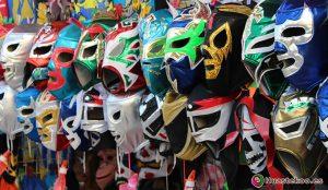 Máscaras de Lucha Libre Mexicana - Tienda Mexicana - Huastekoo.es
