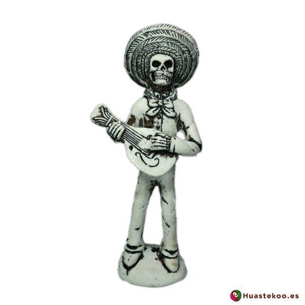 Figura Mariachi Calavera - Tienda de Artesanías Mexicanas - Huastekoo.es