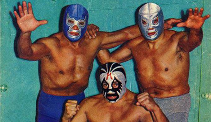 El Santo, Blue Demon y Mil máscaras - Lucha Libre Mexicana