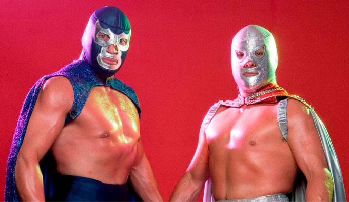 Blue Demon y El Santo - Tienda Mexicana Online - Huastekoo.es