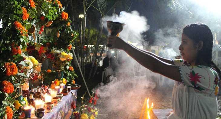 Altar Xantolo - Festividadn Día de Muertos en la Huasteca - Huastekoo.es