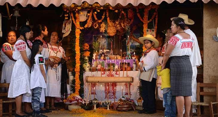 Altares Día Muertos - Xantolo en la Huasteca - Huastekoo.es