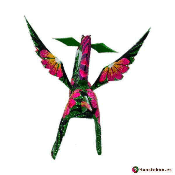 Alebrije Mexicano Estilo Dragón - Tienda de Artesanías Mexicanas - Huastekoo.es - 3