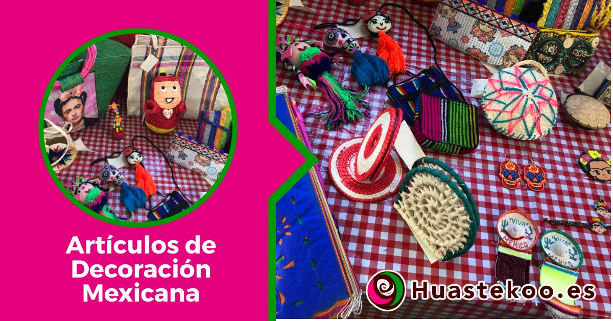 Decoración Mexicana para casas, fiestas y otros eventos - Tienda Huastekoo España