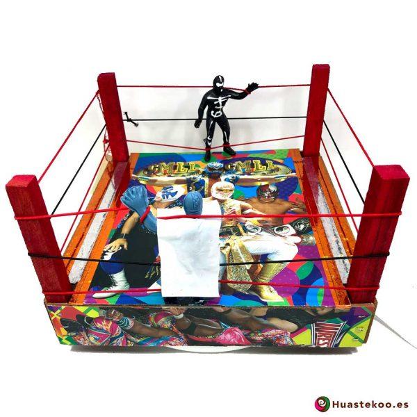 Ring de lucha libre mexicana estilo vintage - Tienda Huastekoo España