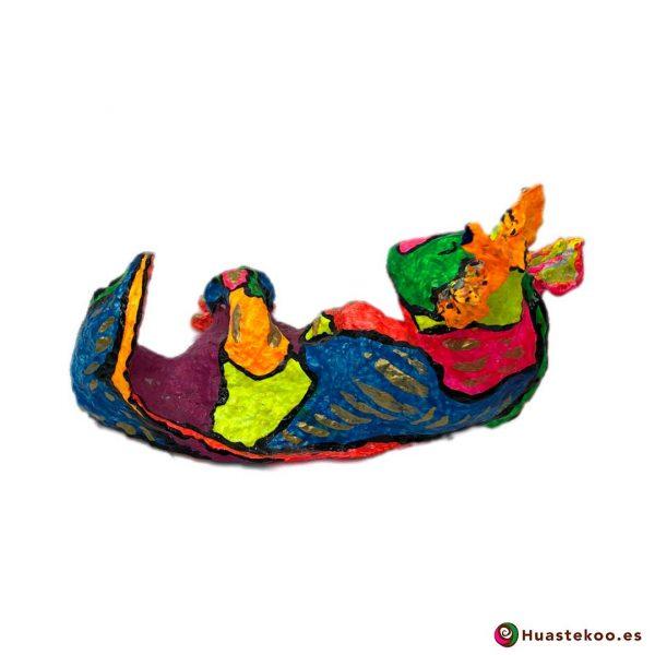Ajolote Mexicano Decorativo de Papel Hecho a Mano - Tienda Huastekoo España - 2