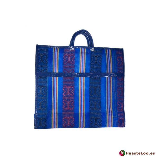 Bolsa Mexicana de Mercado Clásicas Mariposas Azulado - Tienda Huastekoo España - H00172