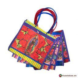 Bolsas Mexicanas de Mercado Virgen de Guadalupe - Tienda Mexicana Online Huastekoo España - H00139-143