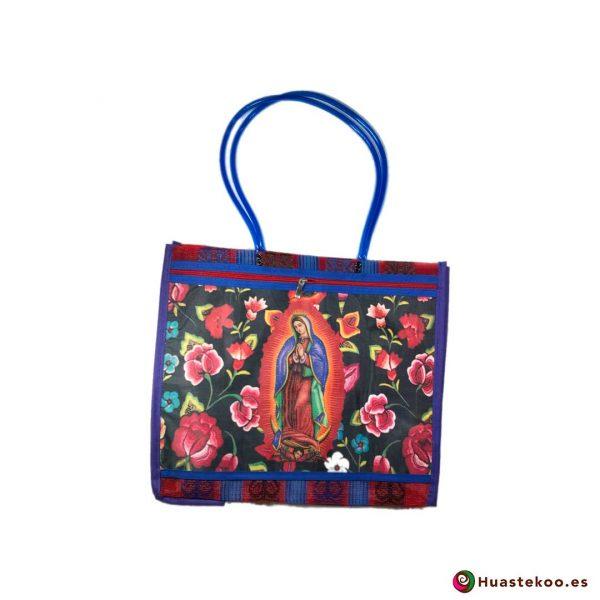 """Bolsa Mexicana de Mercado """"Virgen de Guadalupe"""" Multiflor - Tienda Huastekoo España - H00143"""
