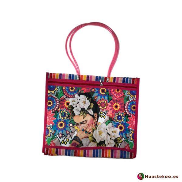 """Bolso de mercado mexicano """"Fridalia"""" Multicolor - Tienda Mexicana Huastekoo España - H00146"""