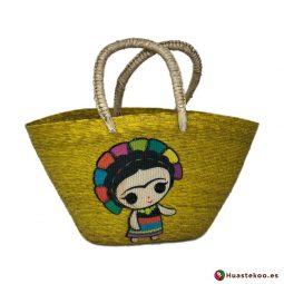 Bolso Mexicano Artesanal Fridalia - Artesanía Mexicana en España - Huastekoo.es - H00405