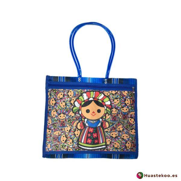 Bolso mexicano de mercado María Blu - Tienda Mexicana Online - Huastekoo España - H00137
