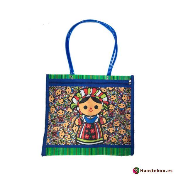 Bolso mexicano de mercado María Greblu - Tienda Mexicana Online - Huastekoo España - H00138