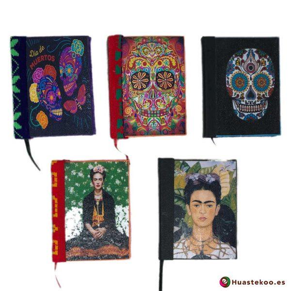 Libretas artesanales mexicanas hechas a mano - Tienda Huastekoo España - 101-105