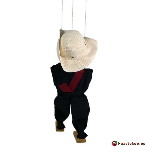 Titere marioneta mexicana hecha a mano - Tienda Huastekoo España - H00088 - 2