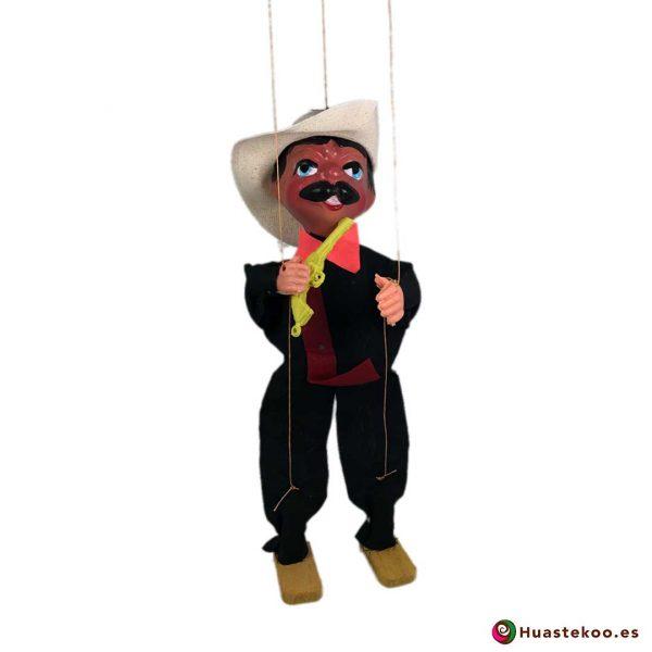 Titere marioneta mexicana hecha a mano - Tienda Huastekoo España - H00088