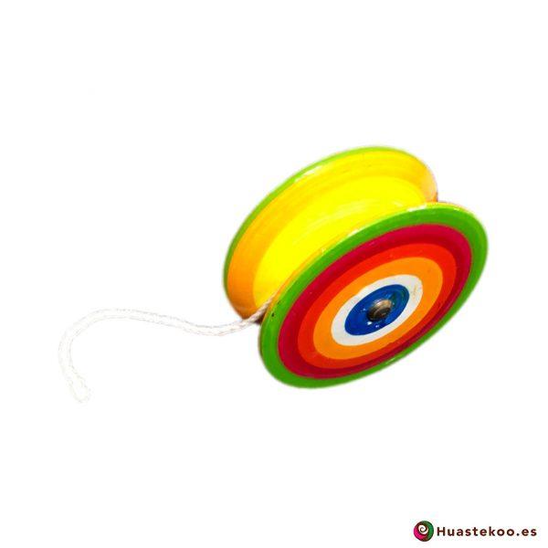 Yoyo artesanal mexicano a la venta en la tienda mexicana online Huastekoo España - H00078