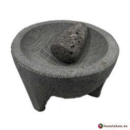 Molcajete mexicano de piedra - Tienda Mexicana Online - Huastekoo.es - Ref. H00650
