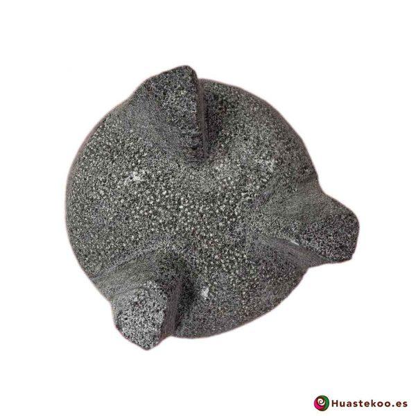 Molcajete de piedra volcánica - Tienda Mexicana Online - Huastekoo España y Europa - h00650-col-2-4