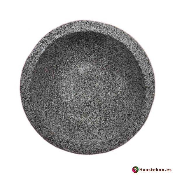 Molcajete de piedra volcánica - Tienda Mexicana Online - Huastekoo España y Europa - h00650-col-2-5