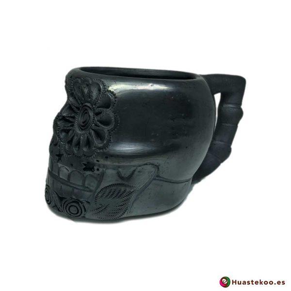 Taza de Cerámica de Barro Negro - Tienda Mexicana Online - Huastekoo España y Europa - 2