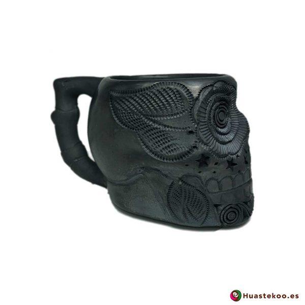 Taza de Cerámica de Barro Negro - Tienda Mexicana Online - Huastekoo España y Europa - 4