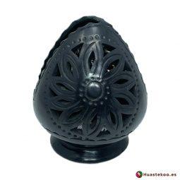 Servilletero de Barro Negro (Cerámica Negra) - Tienda Mexicana - Huastekoo España y Europa - H00740