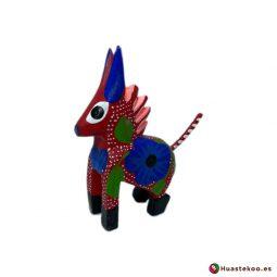 Alebrije mexicano miniatura modelo Burrito - Tienda Mexicana Online Huastekoo España y Europa - H00502