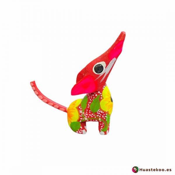 """Comprar alebrije mexicano """"Coyotix"""" mini - Tienda Mexicana Online - Huastekoo España y Europa - H00508 - 4"""