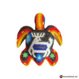 """Figura decorativa Arte Huichol """"Tortuga"""" - Tienda de Artesanía y Regalos Mexicanos - Huastekoo España y Europa - H00746 - 6"""