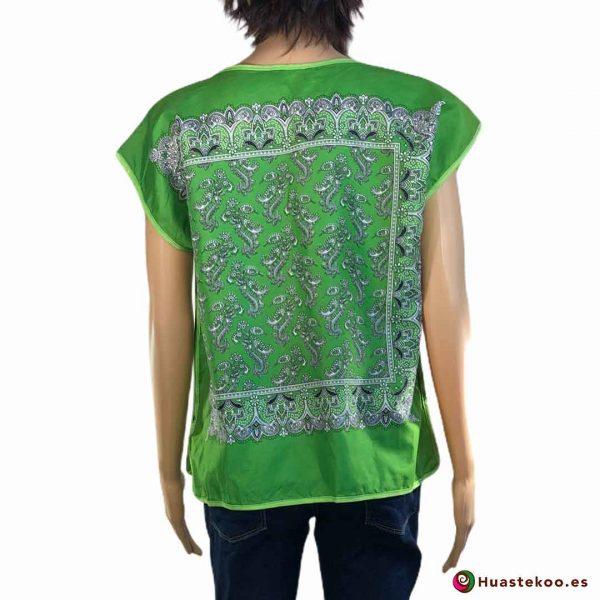Blusa Mexicana Paliacate (pañuelo) de venta en la tienda online de regalos mexicanos en España Huastekoo.es - H00019 - 2