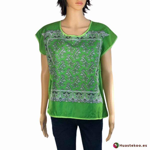 Blusa Mexicana Paliacate (pañuelo) de venta en la tienda online de regalos mexicanos en España Huastekoo.es - H00019