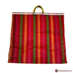 Bolsa Mexicana Mercado multicolor - Tienda Mexicana Online - Huastekoo España y Europa - H00177