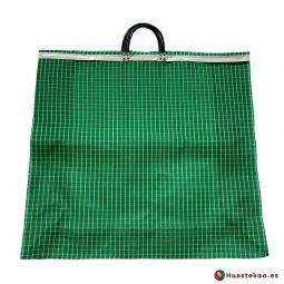 Bolsa Mexicana Mercado XXL Verde - Tienda Mexicana Online - Huastekoo España y Europa - H00176