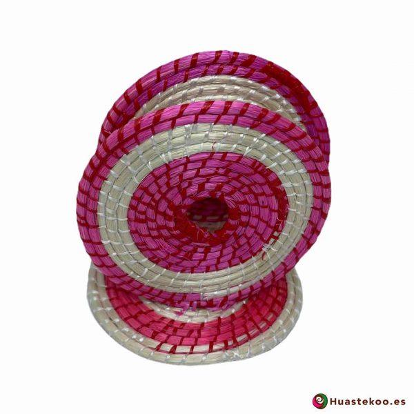 Servilletero ecológico artesanal hecho a mano de Ixtle - Tienda de Regalos Mexicanos Huastekoo España y Europa - H00375