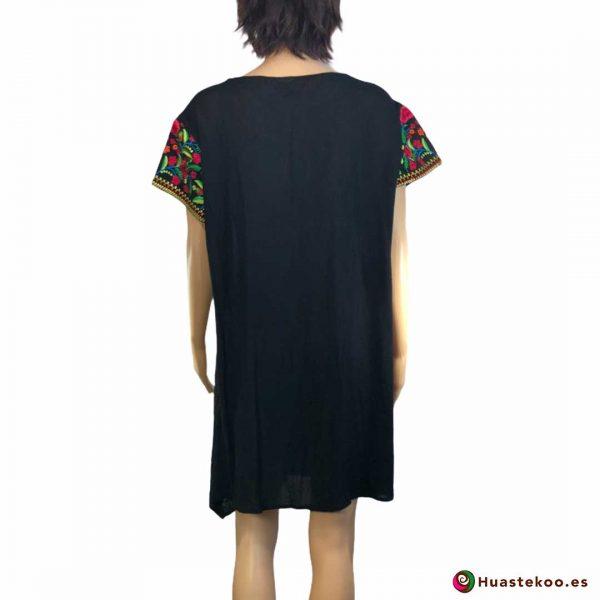 Comprar vestido mexicano a la venta en la tienda de artesanía y regalos mexicanos Huastekoo España y Europa - H00032 - 2