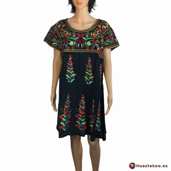 Comprar vestido mexicano a la venta en la tienda de artesanía y regalos mexicanos Huastekoo España y Europa - H00032